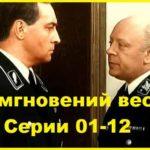 17 мгновений весны 1973 год Серии 01-12